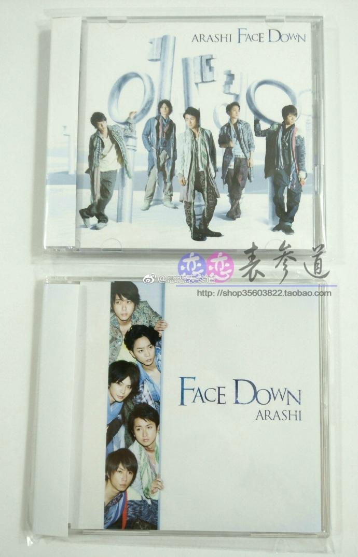 ARASHI 38单 「Face Down」单曲 岚