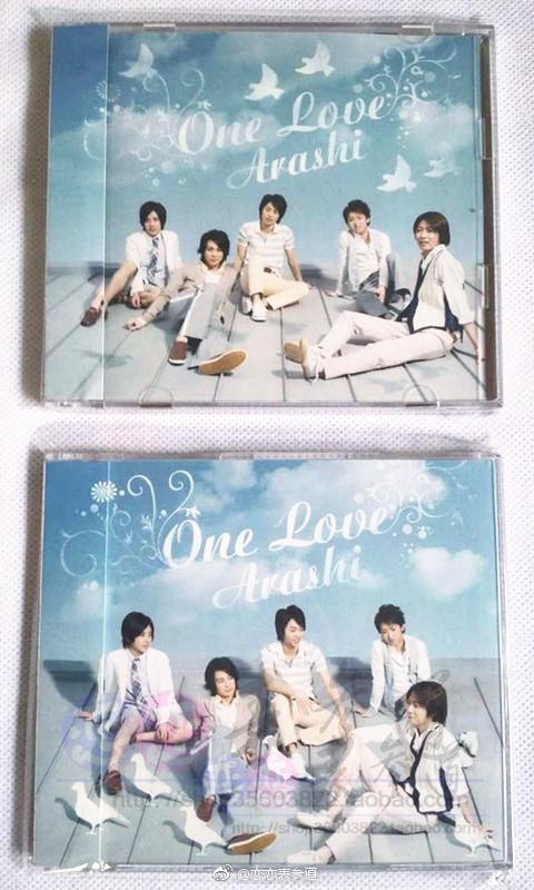 ARASHI 22单「One Love」单曲 岚